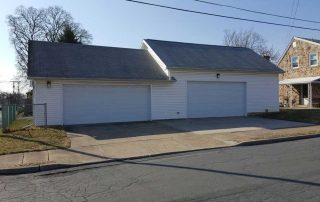 Two Bay Garage